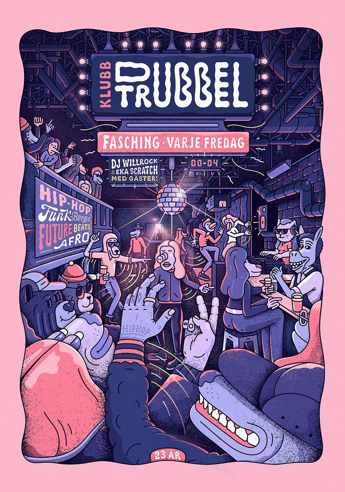 dubbeltrubbel-poster